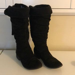 Girls Black Boots from Justice